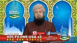 Mufti Muneer's Fatwa on Junaid Jumshaid's Issue – Asrar e Rahmat Dec. 07, 2014